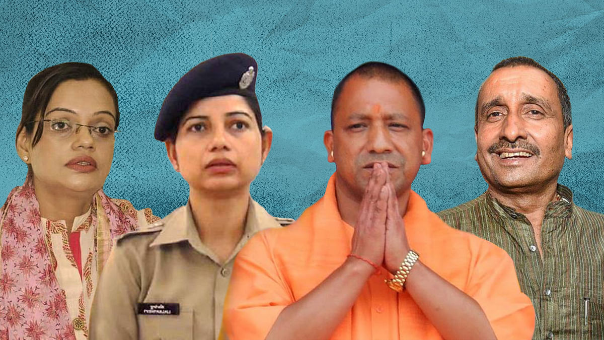 Unnao: Yogi government cleared, promoted top officials accused of protecting BJP MLA in rape case