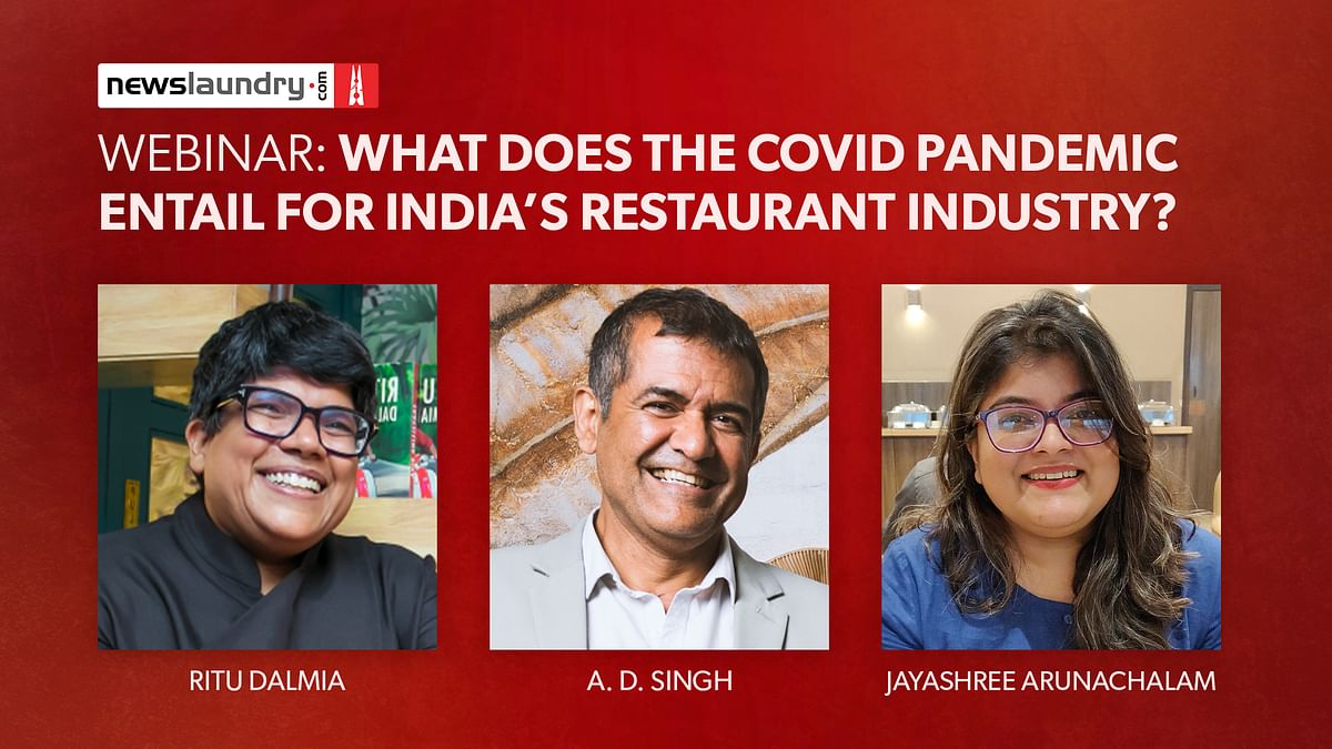 Webinar: What does the Covid pandemic entail for India's restaurant industry?