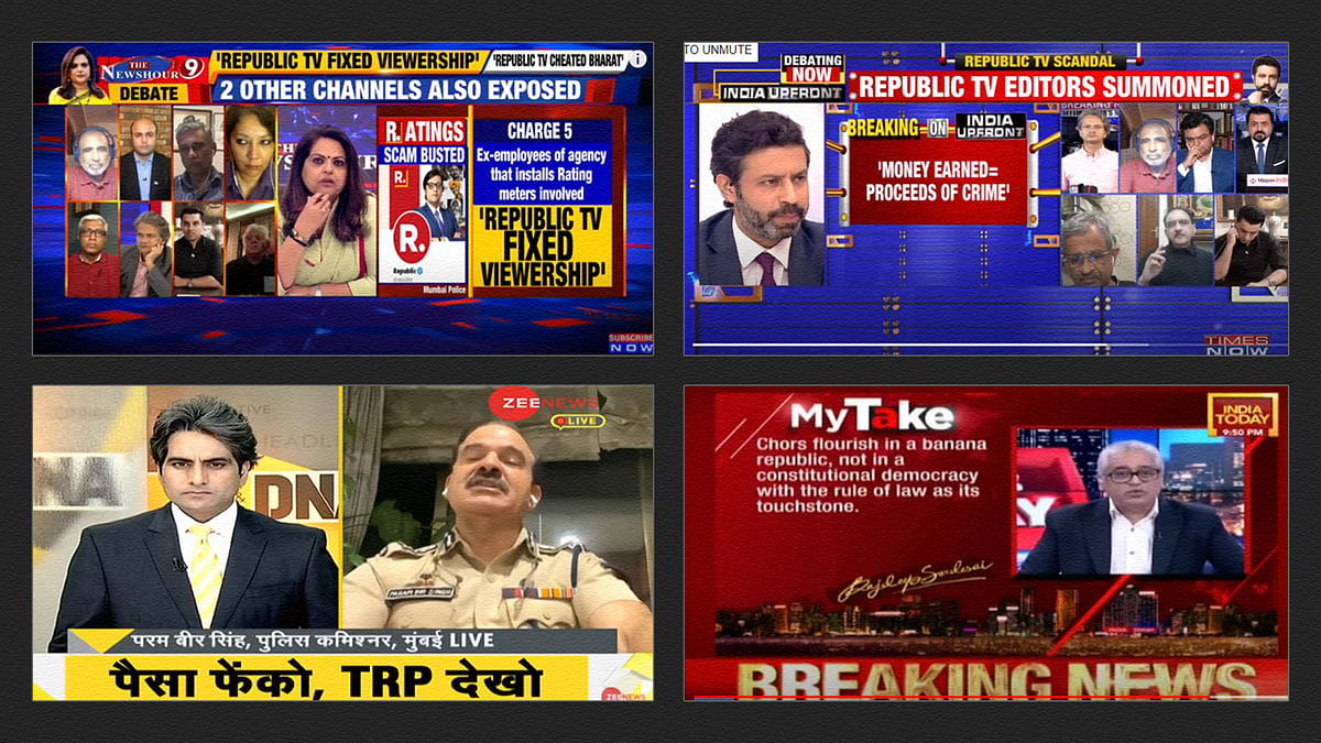Divided by TRPs, united against Arnab Goswami: Debates on the ratings scam