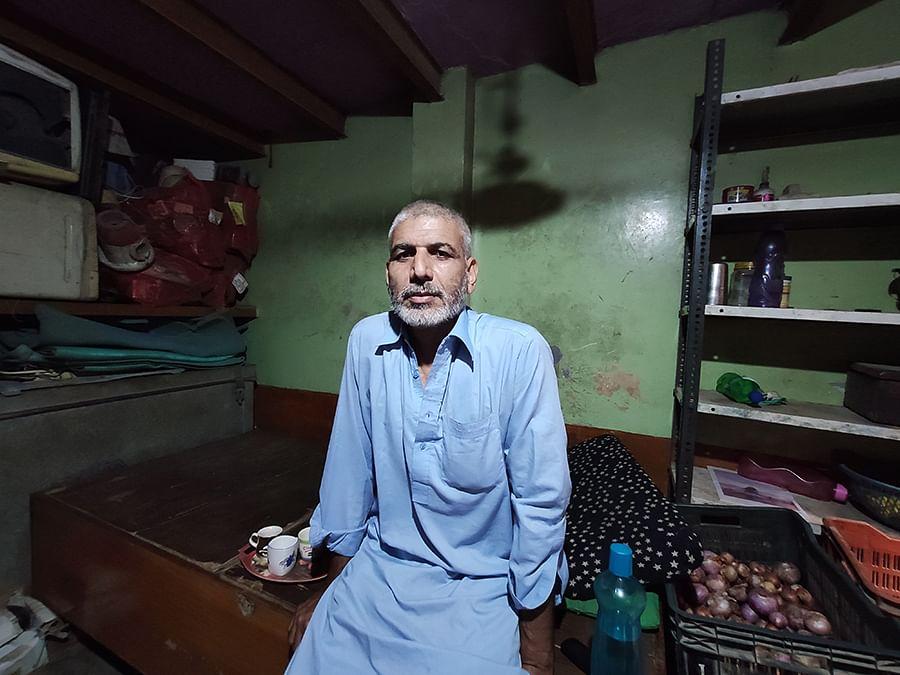 Ashfaq's father Aagaz Hussain lives in Mustafabad's Indira Vihar.