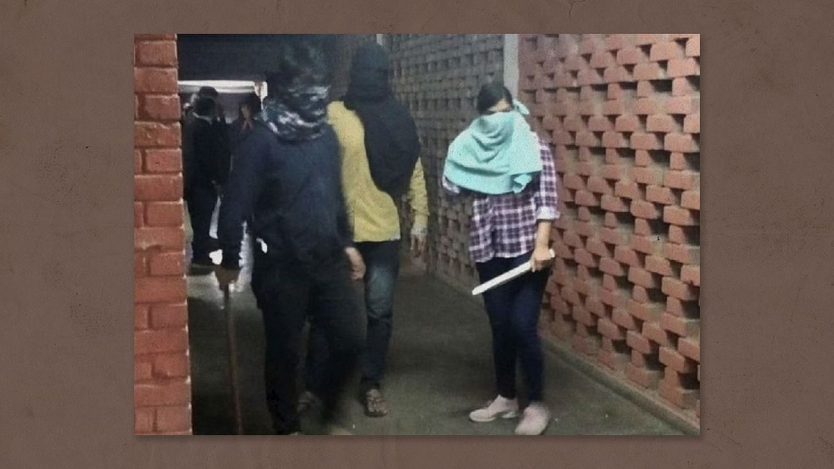What happened to the goons who attacked JNU early this year?