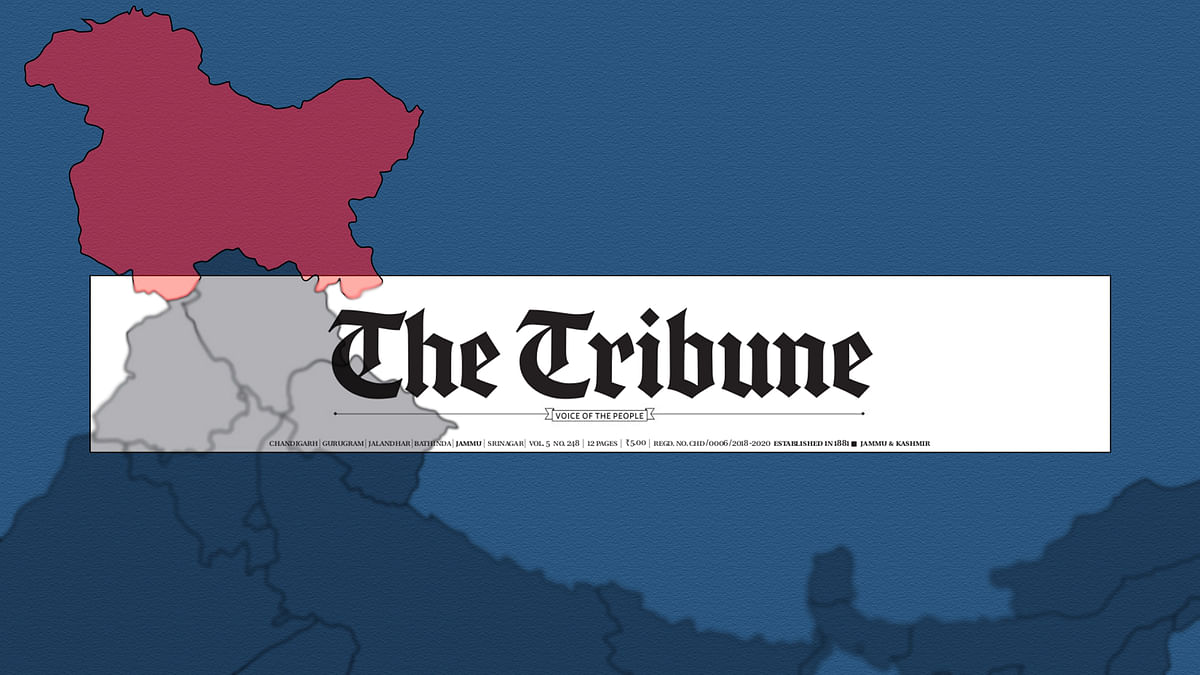 Two dozen staffers laid off as the Tribune closes its 'strategic' J&K edition