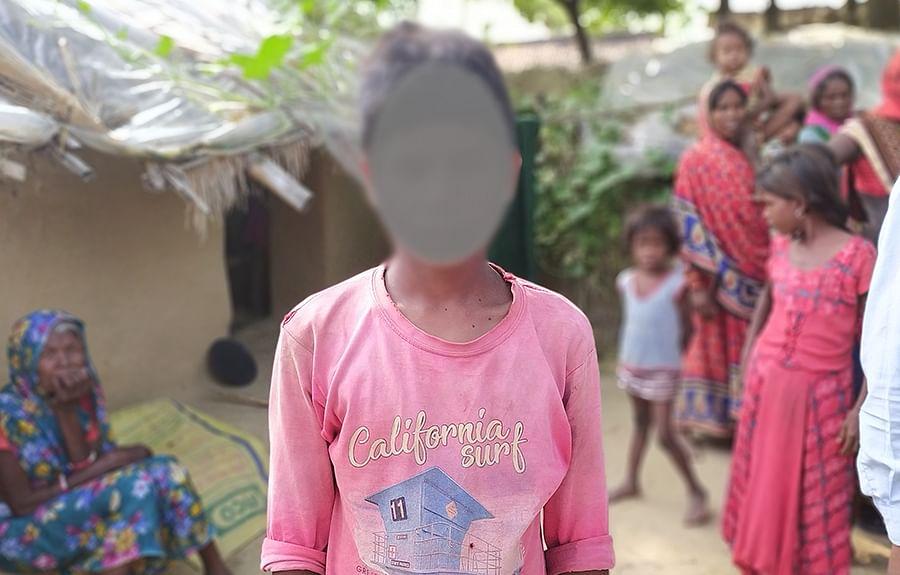 जयपुर से छुड़ाया गया बच्चा