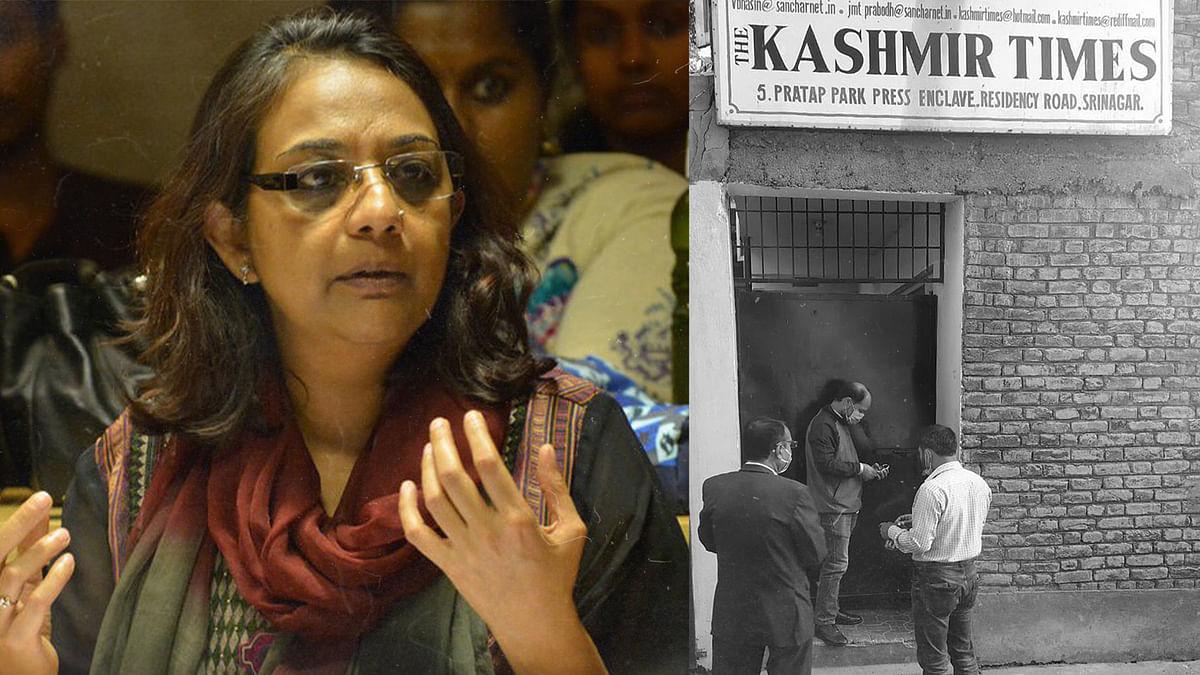 'It's political vendetta': Why Kashmir Times office in Srinagar was sealed