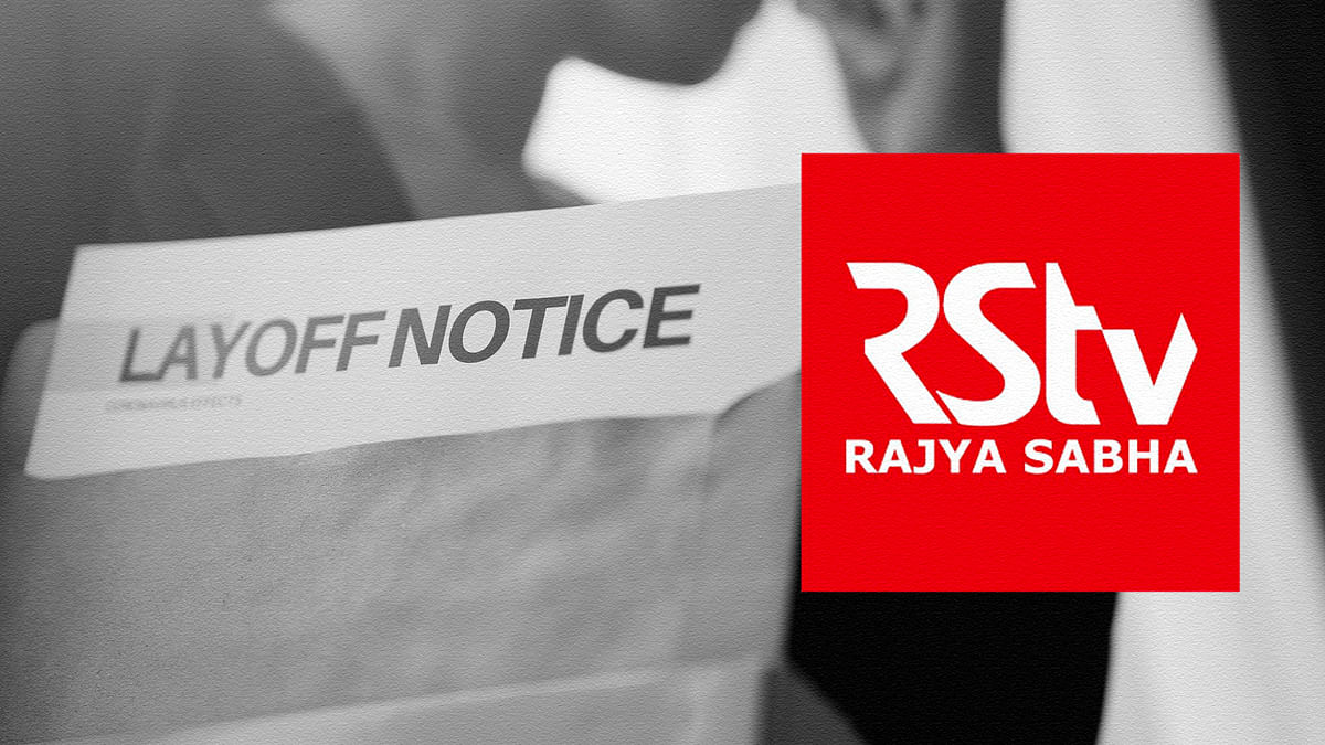 'Is this what I deserve after 8 years?': Rajya Sabha TV lays off 37 employees