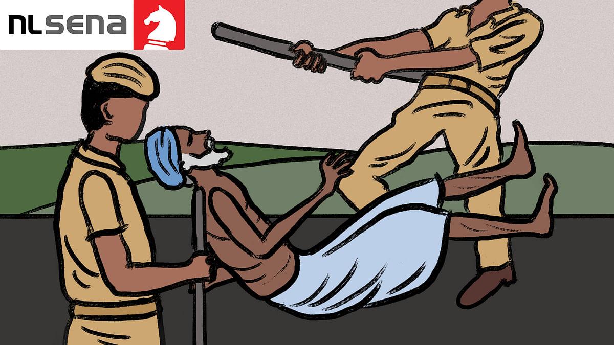 लॉकडाउन में मध्य प्रदेश पुलिस के अत्याचार के शिकार टीबू मेड़ा