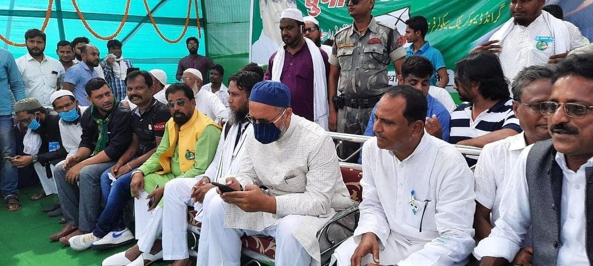 Owaisi in Bihar.