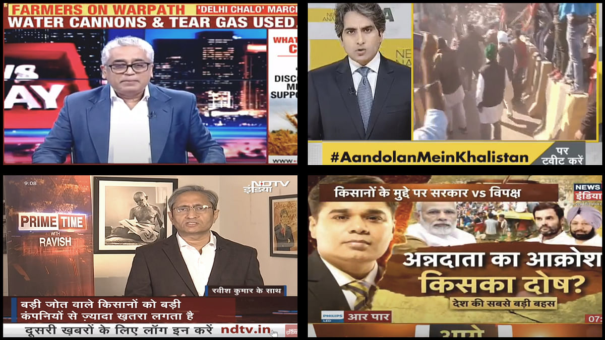 'Misled', 'brainwashed', 'instigated': How primetime TV covered farmer protests