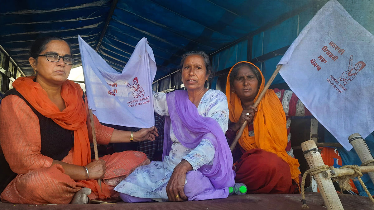 'We'll turn Delhi into Punjab': Meet Singhu's women protesters
