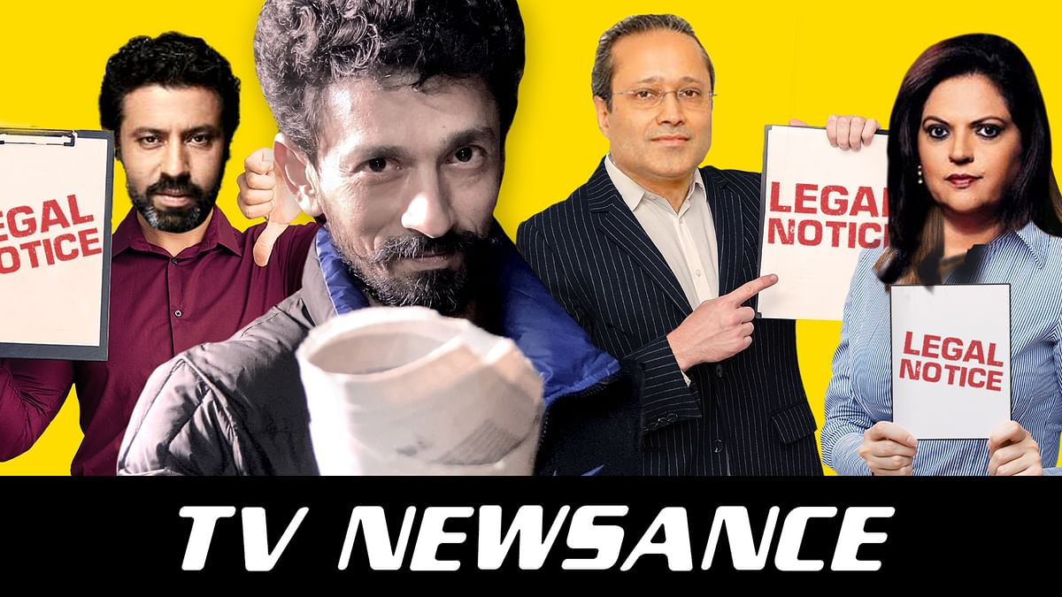 TV Newsance Episode 114: Sakal Times and Times Now send legal notices to Newslaundry