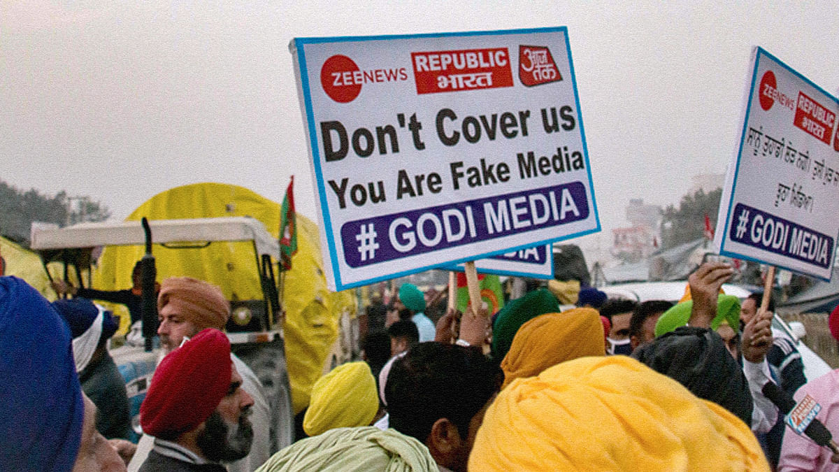 'Media has lost our trust': Why protesting farmers are angry with 'Godi media'