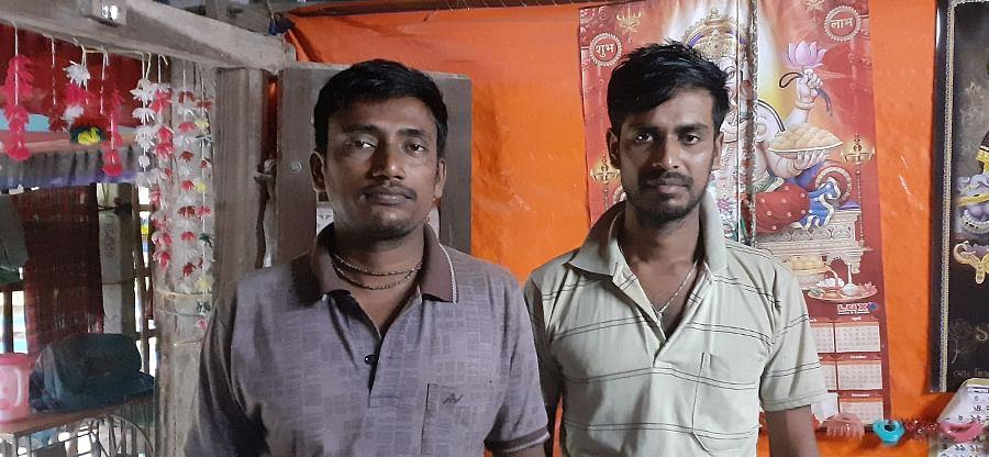 Anup Mondal (left) and Soumitr Mondal.