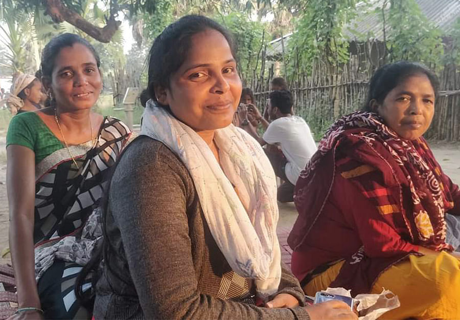 Kamala Kaka, centre, has been battling for justice for over seven years.