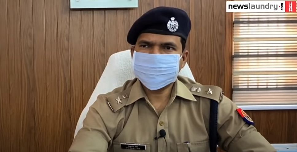 Vikrant Vir, superintendent of police, was suspended after the girl's death.