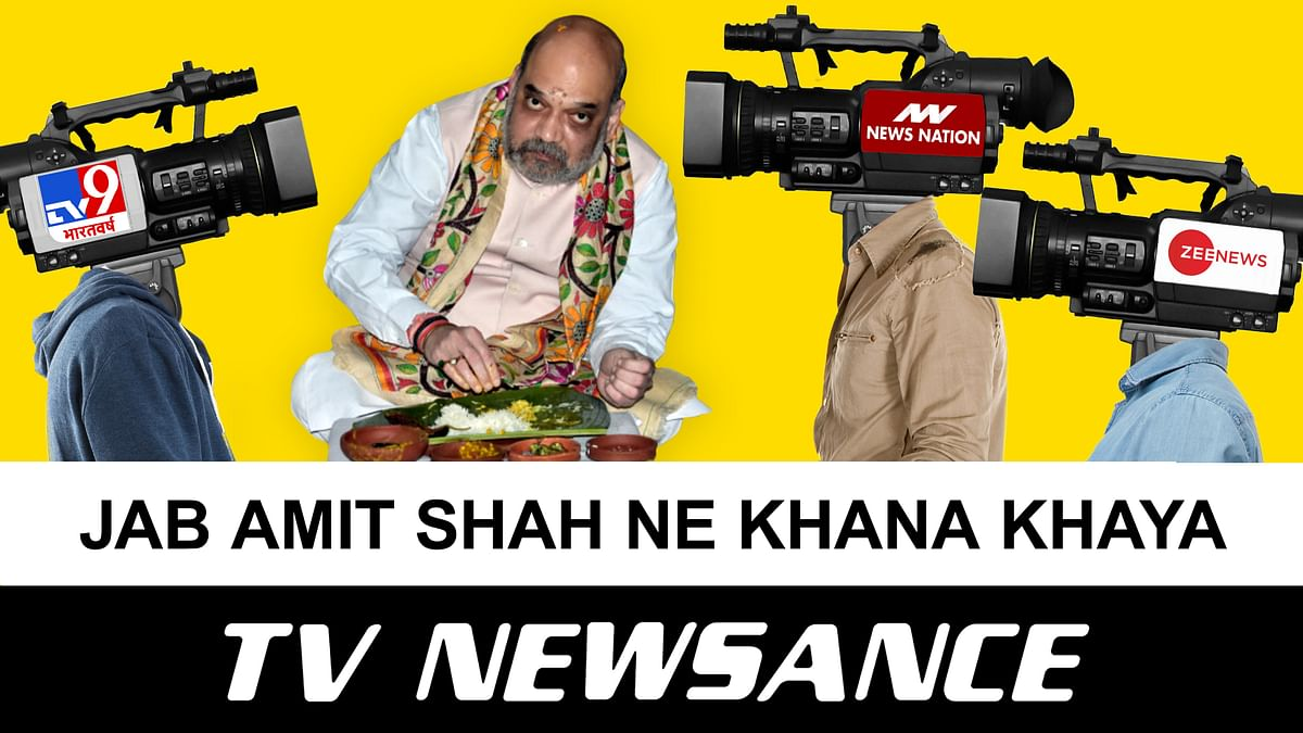 TV Newsance 115: Amit Shah eats, Modi prays, and media loves