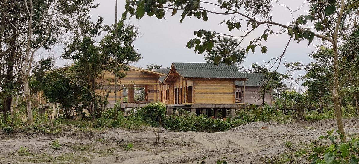 Those involved in the tourism industry are rebuilding cottages for tourists.