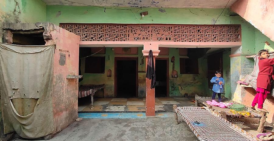 Mohammad Rashid's house.