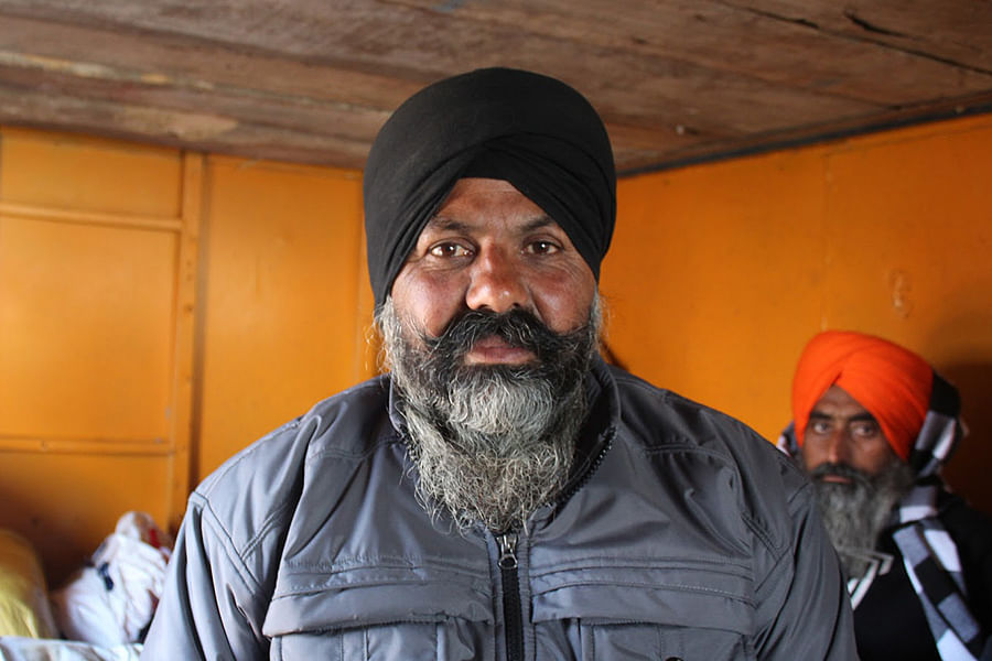 Iqbal Singh, 50, served in the Indian army for 30 years.