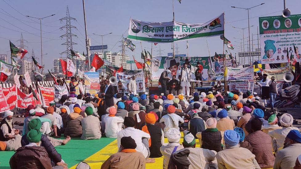 गाजीपुर बॉर्डर: किसान आंदोलन के कई रंग