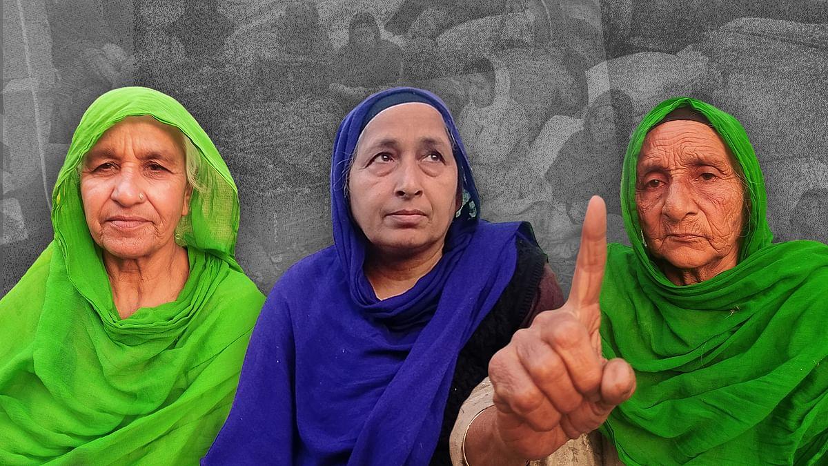 किसान आंदोलन की महिलाएं: 'यह बच्चों के भविष्य की लड़ाई है इसलिए बिना नहाए भी रहना पड़ता है'