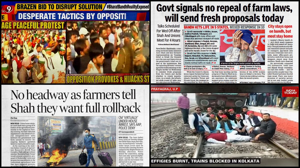 From #BharatBandhFlop to 'peaceful protest': How English media covered Bharat Bandh