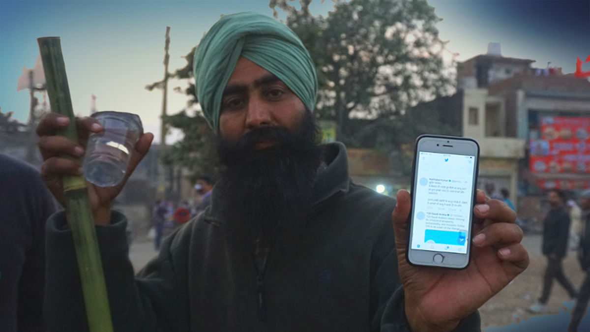 How Punjabi youth are using social media to back up farmer protests, and counter 'Godi Media'