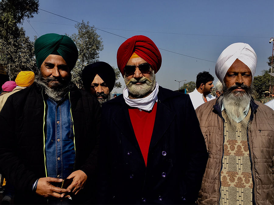 A group of people from Mohali.