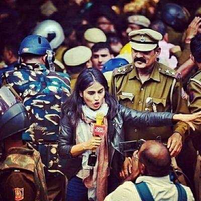 इंडिया टूडे की पत्रकार तनुश्री