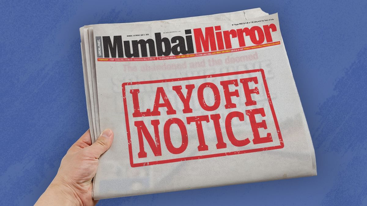 40 lose jobs as Mumbai Mirror turns into a weekly, Pune Mirror continues as daily
