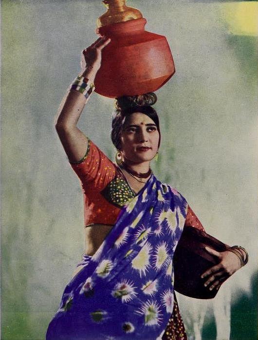 फिल्म किसान कन्या में पद्मादेवी