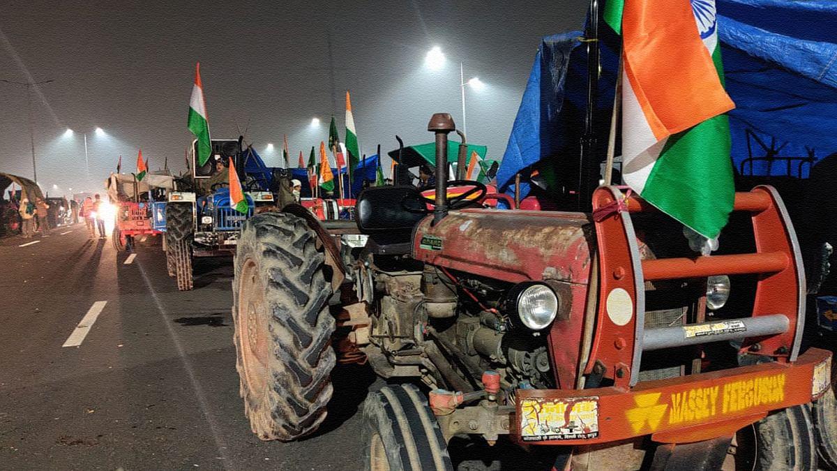 25-26 जनवरी की दरम्यानी रात, गाजीपुर बॉर्डर का आंखो देखा हाल