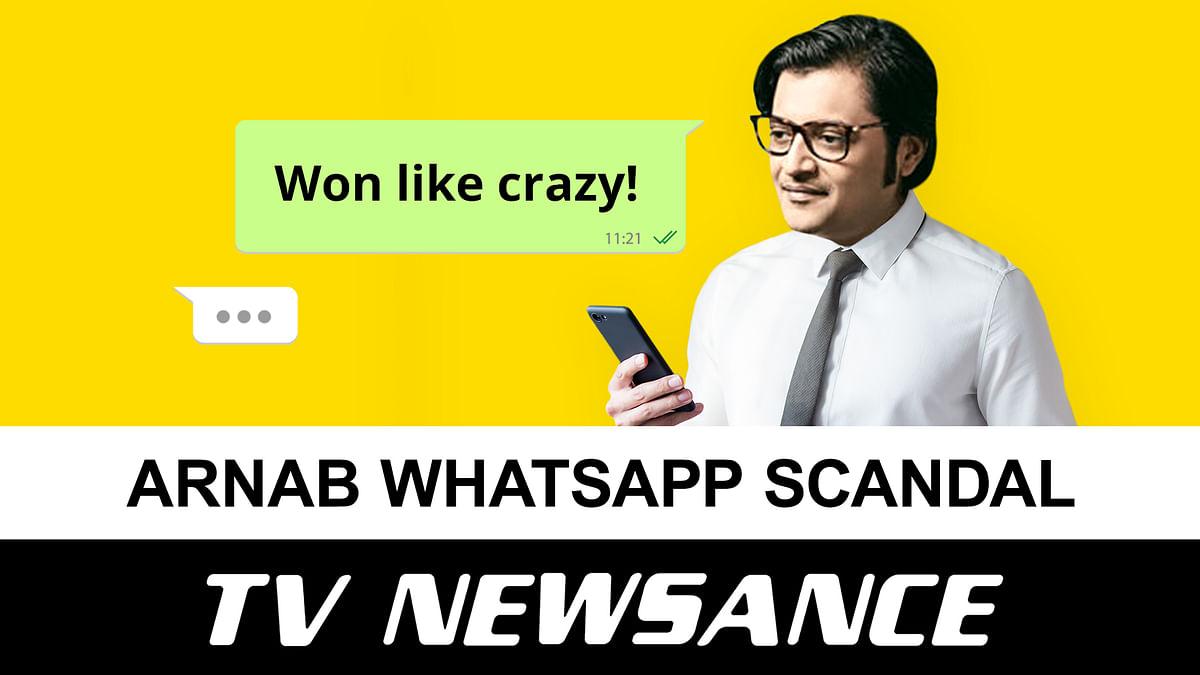 TV Newsance Episode 118: Arnab Goswami WhatsApp chat leak