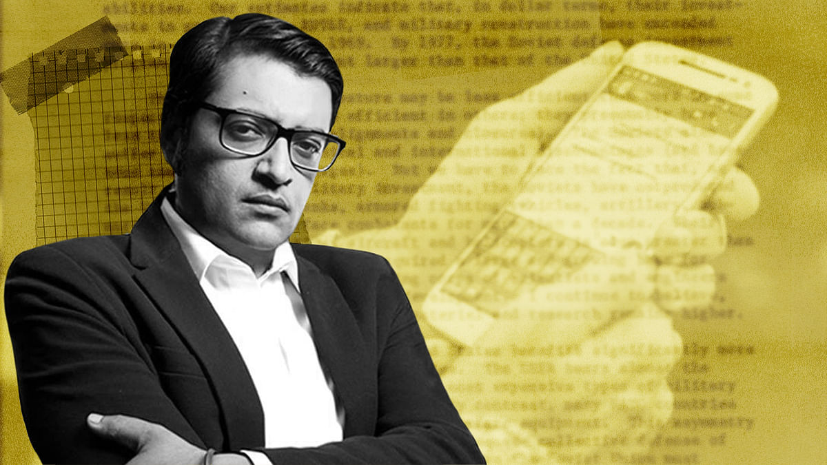 'One must play dirty': Chats show how Arnab Goswami plotted with BARC CEO