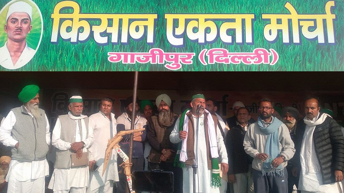 किसान आंदोलन पूरी तरह अराजनैतिक था, है और रहेगा: राकेश टिकैत