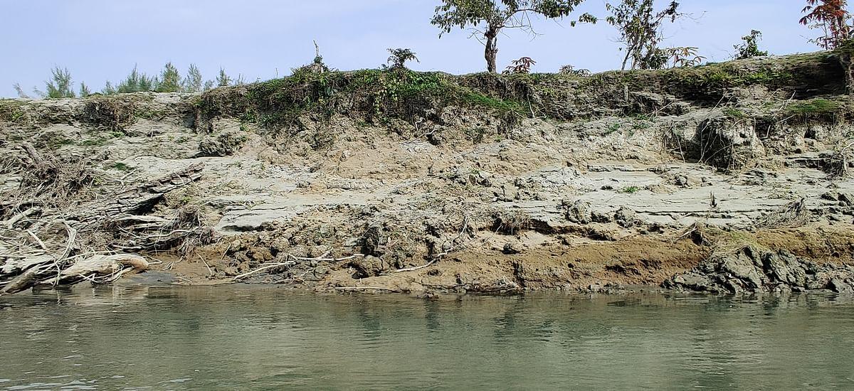 Flooding and erosion has left the land uninhabitable.
