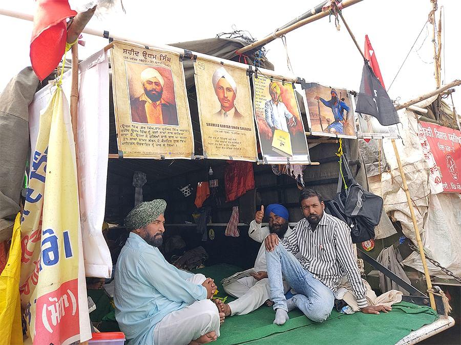 Hardev Singh's tractor turned caravan.