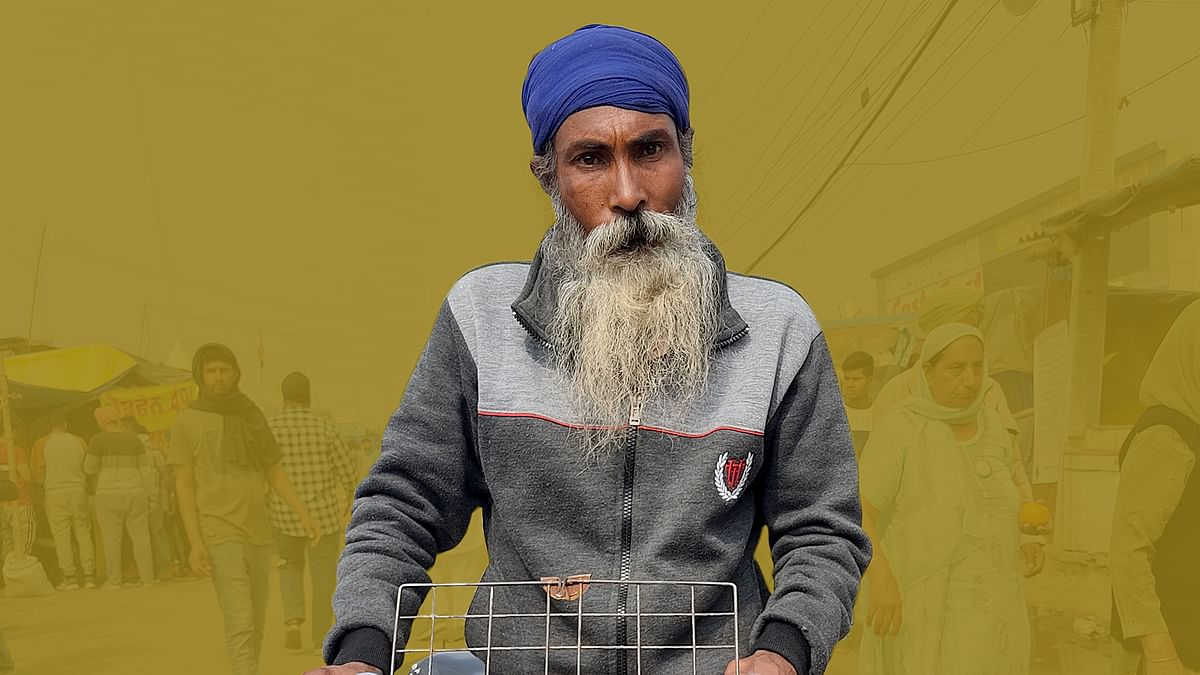 Protest on wheels: Meet the farmer who cycles around Singhu to lift spirits