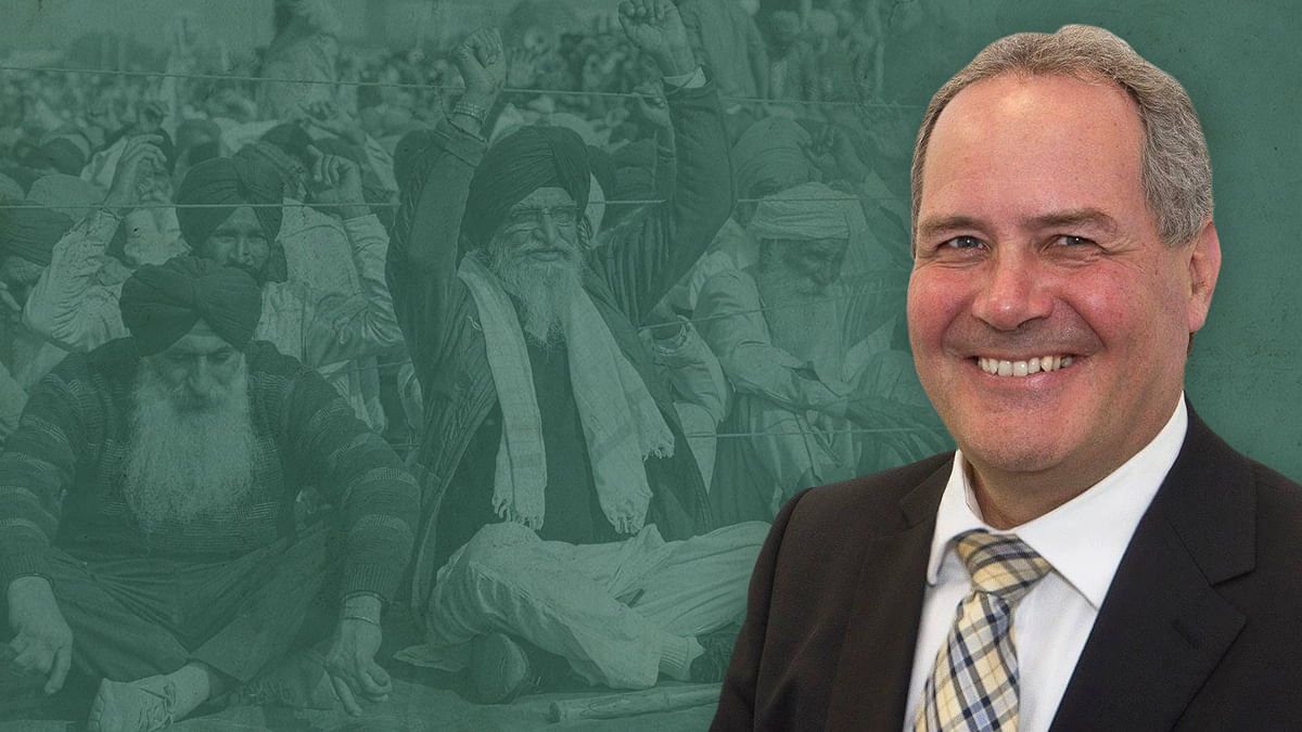 British MP put out false claims about India's farm laws. So, we confronted him