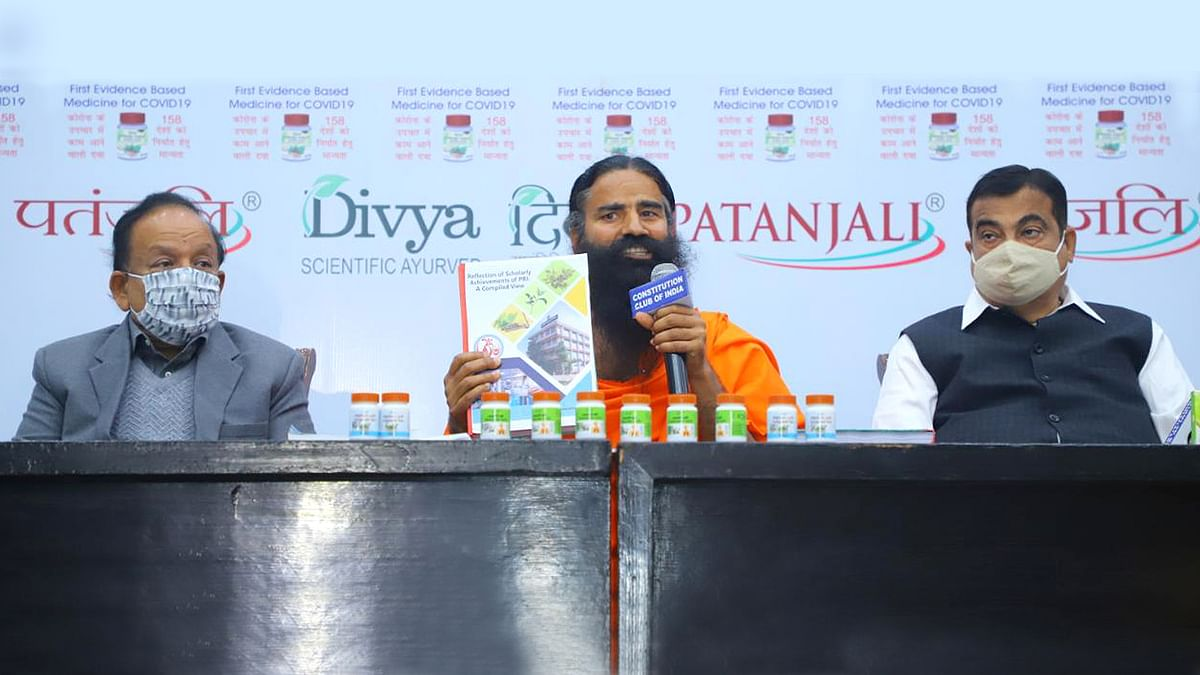 Patanjali's Coronil gets another boost, courtesy a dubious clinical trial