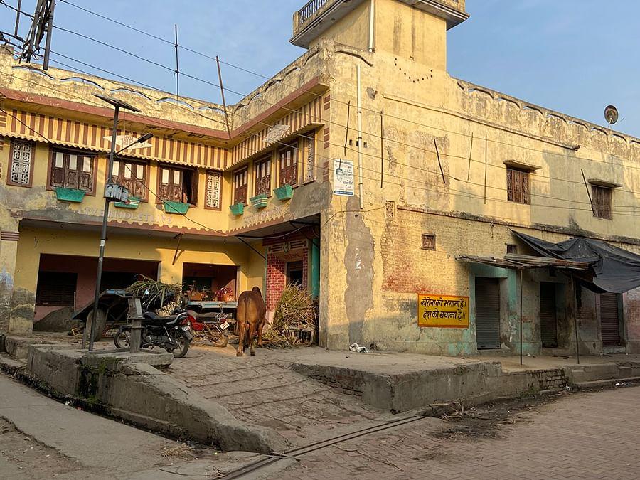 Vineet's house in Muzaffarnagar's Kutesra village.