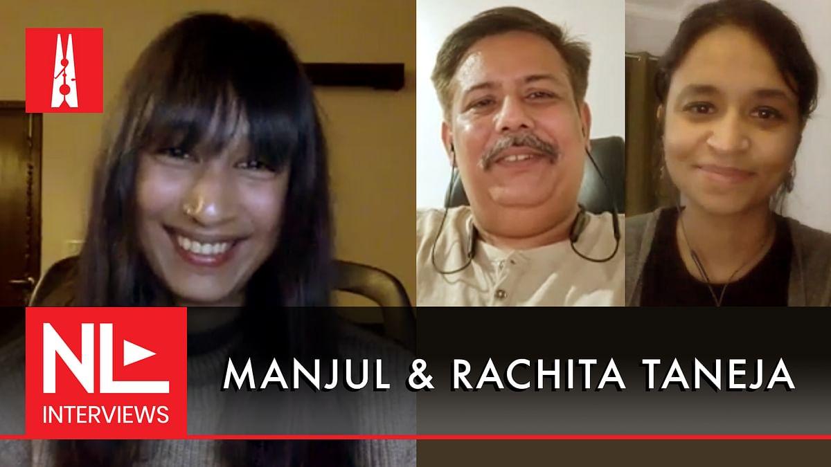 NL Interview: Cartoonists Manjul and Rachita Taneja on art and censorship