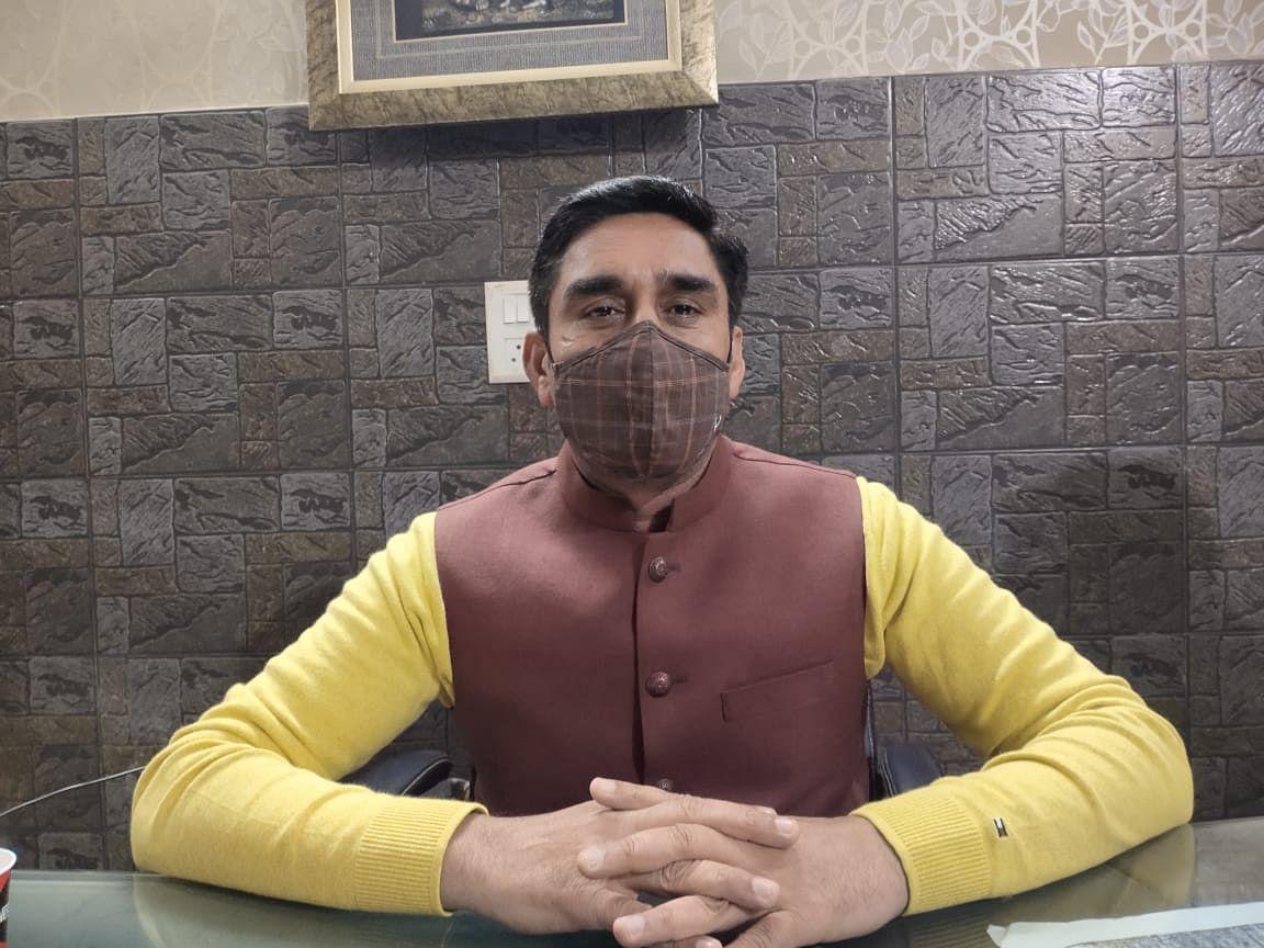 बीजेपी नेता गजेंद्र सिंह