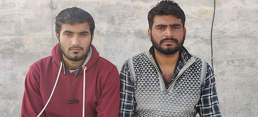 Monty Rana (left) and Mohit Rana.