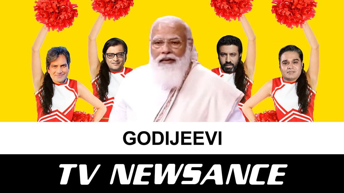 TV Newsance Episode 121: PM Modi coins a new word for Godi-Jeevi