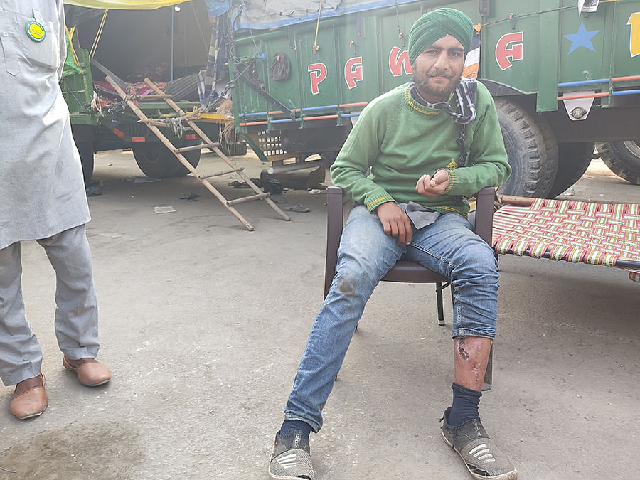 Jangwat Singh was hit by a teargas shell on January 26.