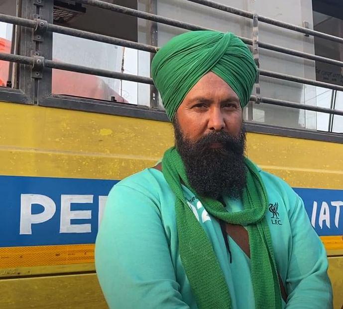Kulwan Singh, a farmer from Gurugram.