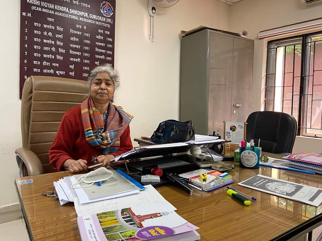 केवीके के अध्यक्ष डॉ. अनामिका शर्मा