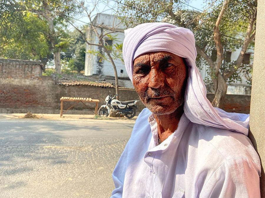 Jaipal Singh, 65, a sugarcane and wheat farmer in Shamli.