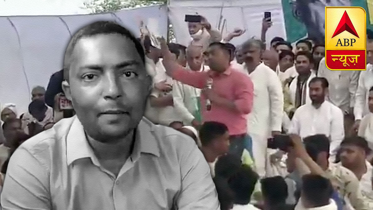 Why an ABP News reporter quit dramatically at Meerut farmers' meet