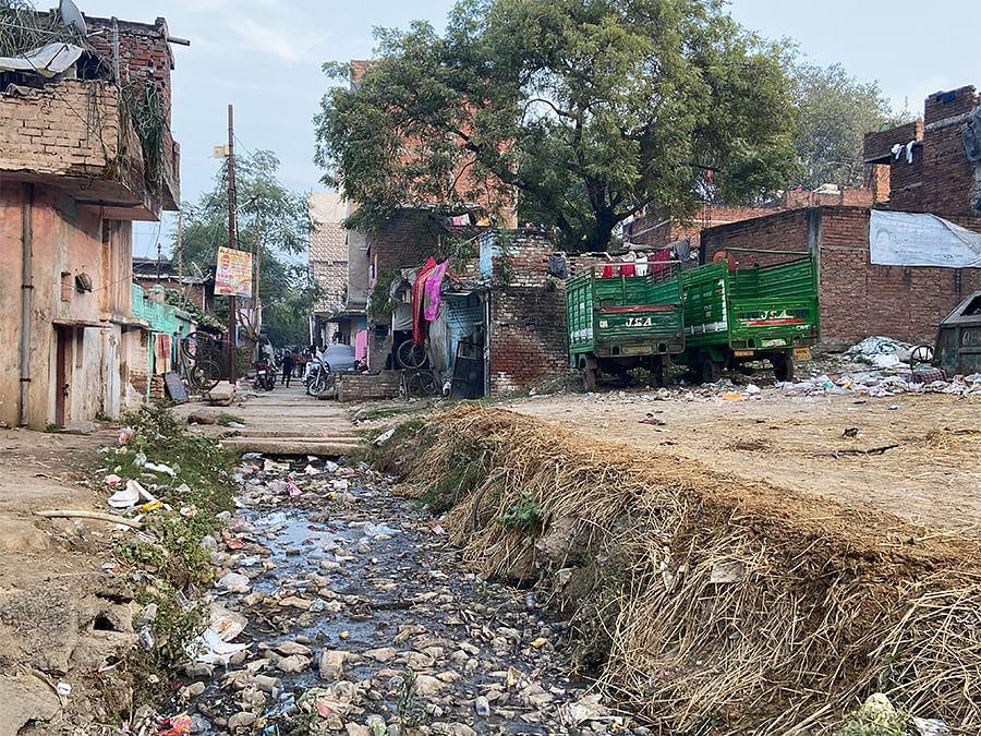 Kucchi basti in Govind Nagar.
